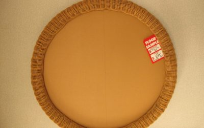 wicker round frame only