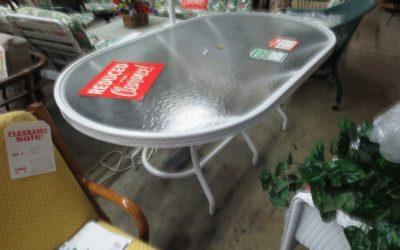 Lloyd Oval Patio Table 72″inch x 48″inch furniture