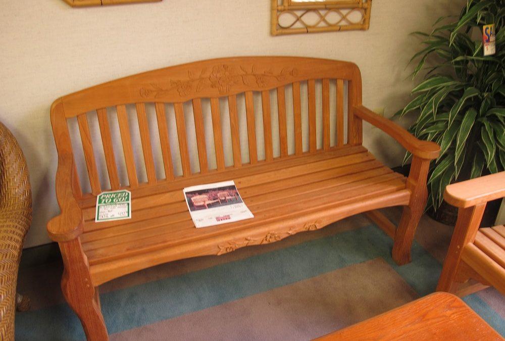 Kingsley Bate Provencal 4.5′ Bench