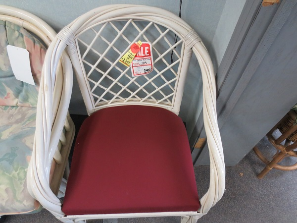 Twist Lattice Arm Chair