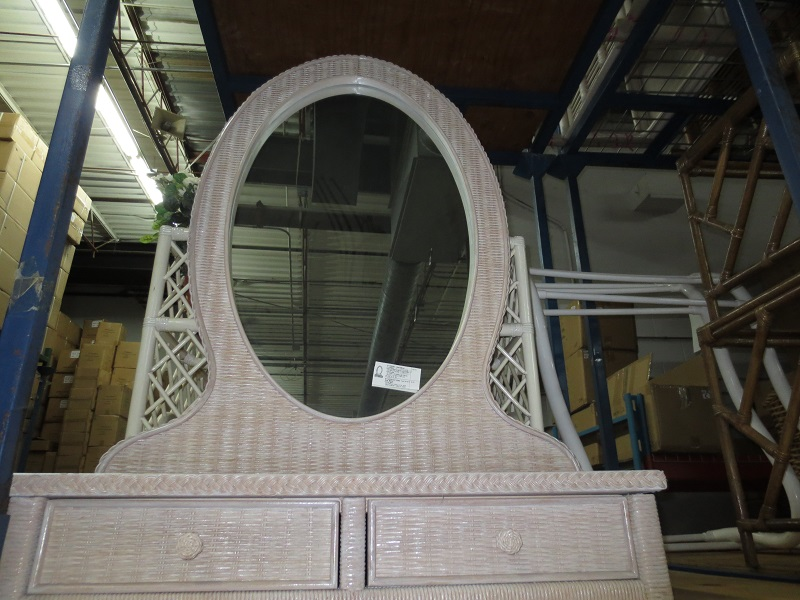 Mirror with Two Drawers