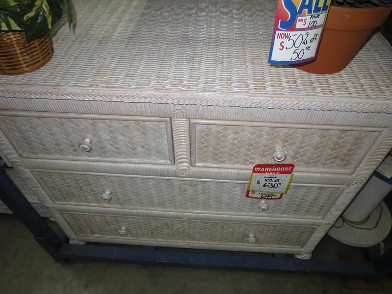 vintage next furniture wicker rattan san loveseat tall i dresser tropical