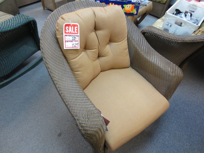 Reflections Swivel Glider Rocking Chair Wicker Rattan