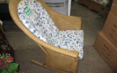 Heirloom Rocking Chair With Cushion