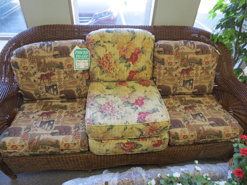 Summer Wind Wicker Sofa